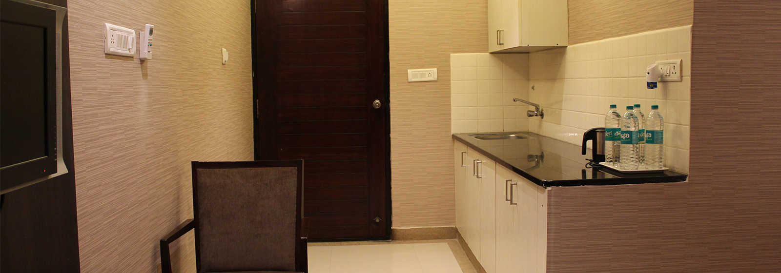 Super Deluxe room at The Byke Signature, a business hotel in Whitefield, Bangalore.