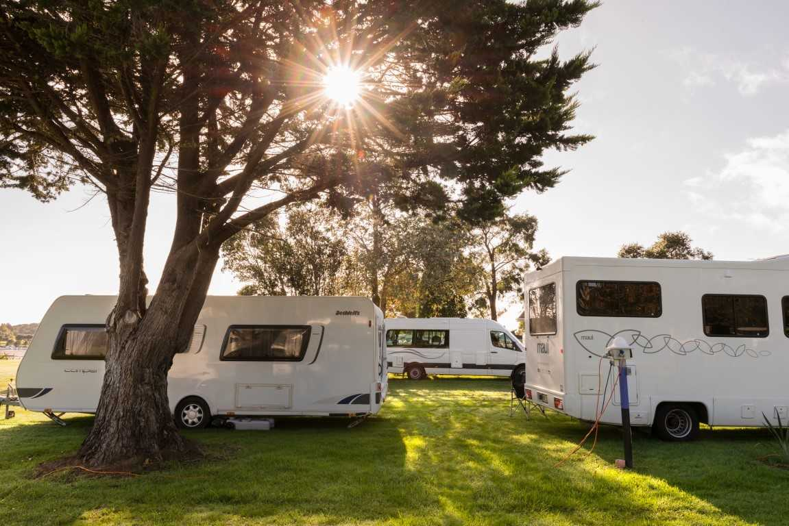Campervans & Caravans - plenty of space for all