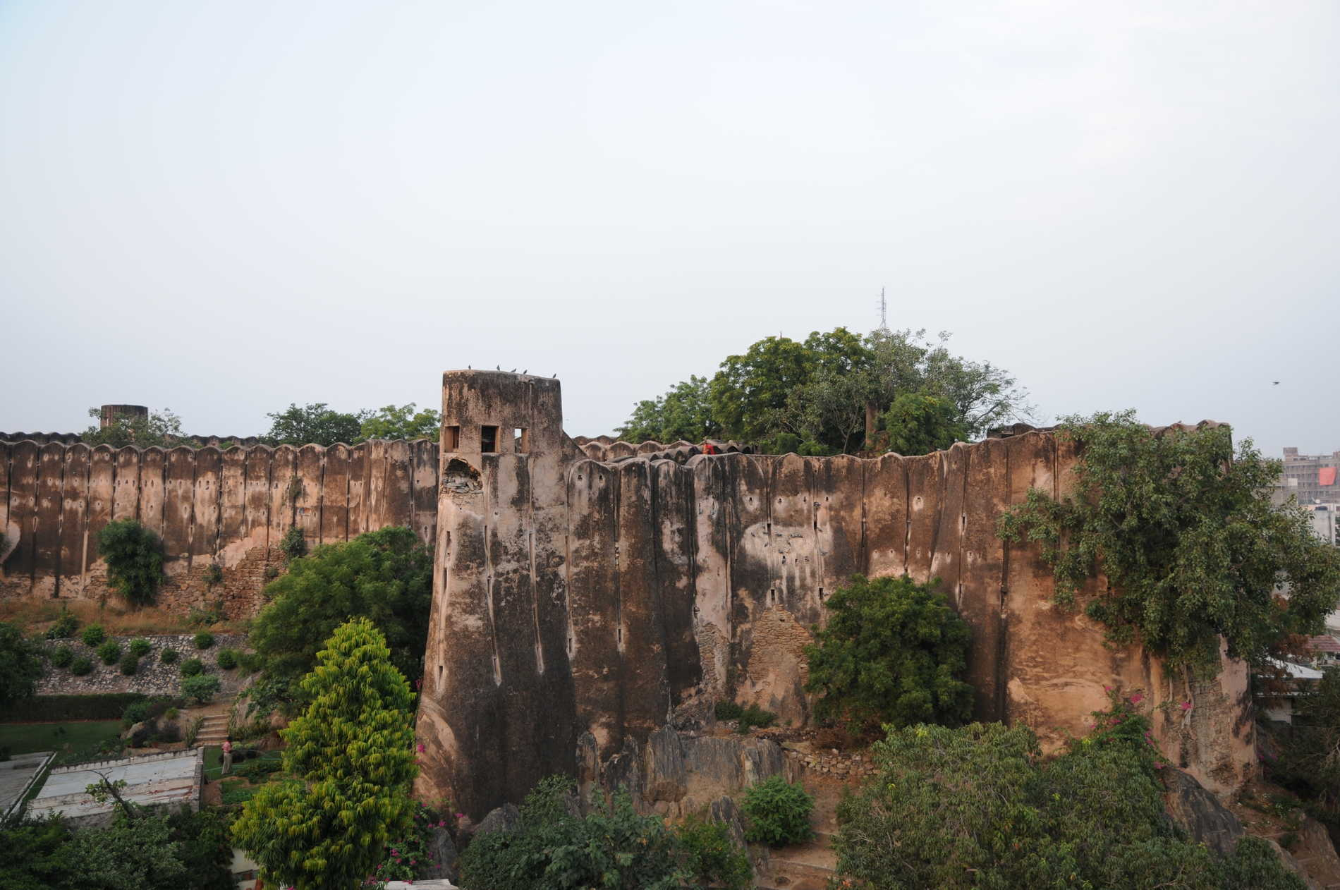 Fort view from terrace