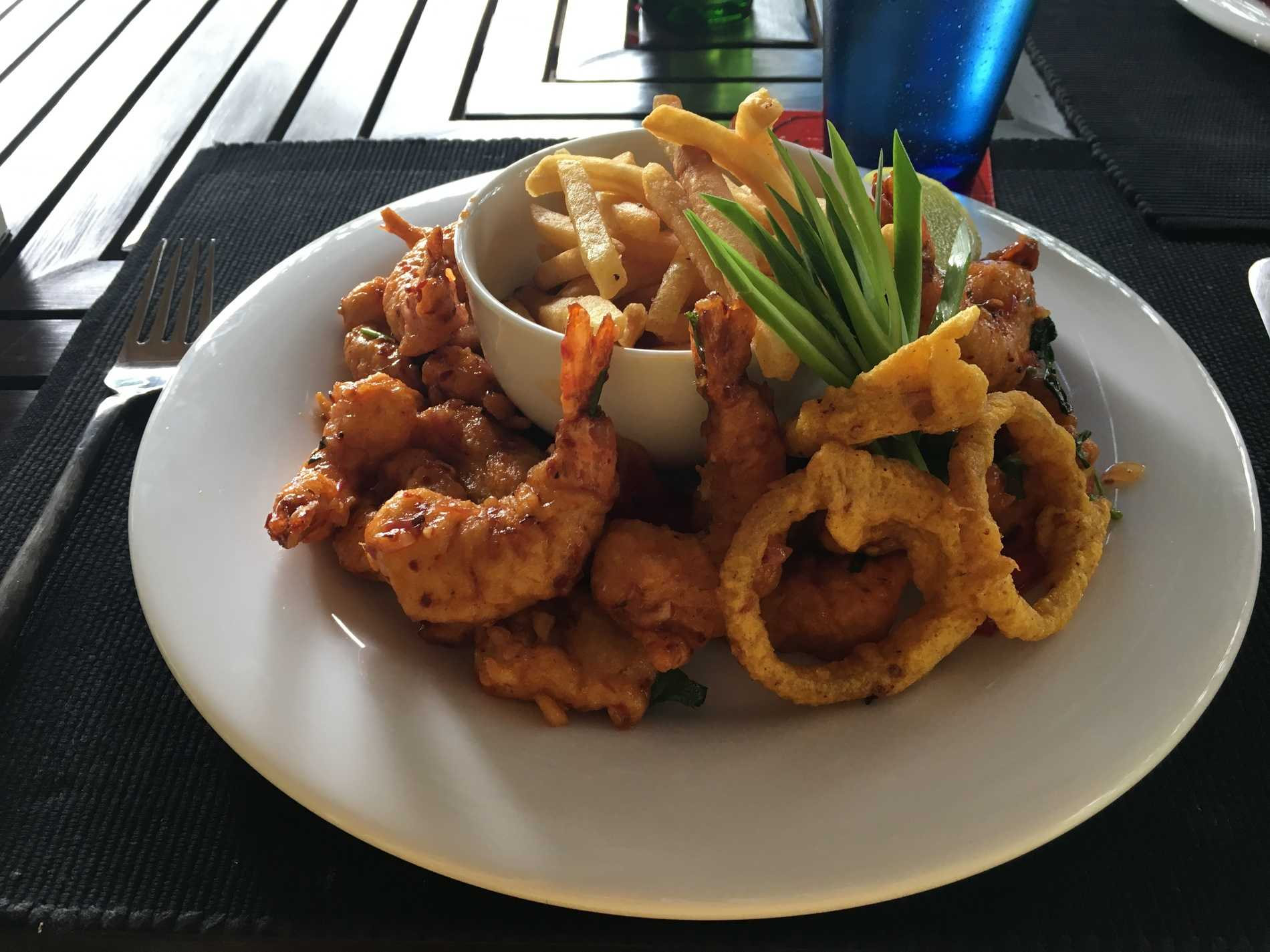 Mixed seafood, catch of the day