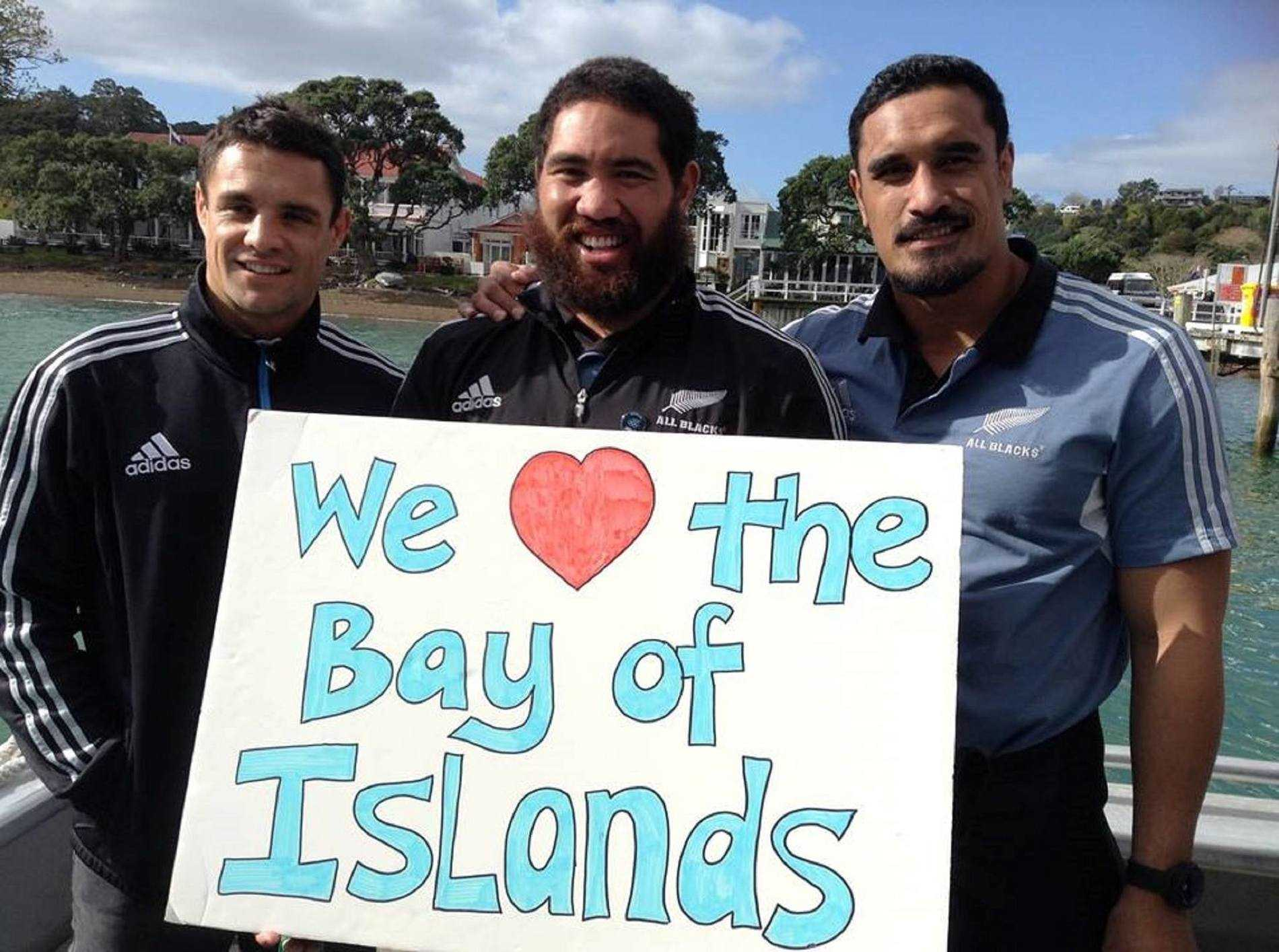 All Blacks Visit to Paihia