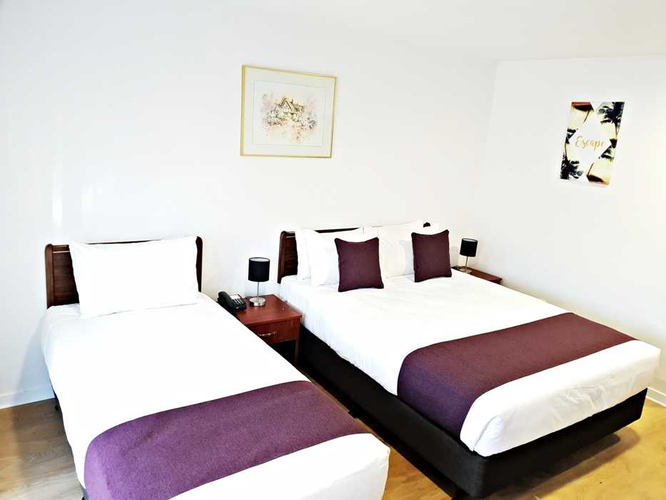 Double & Single Bed