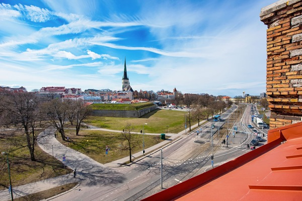 Amazing view in the heart of Tallinn - View from room