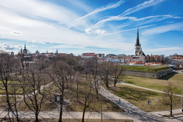 Stylish and cozy apartment in the heart of Tallinn - View from room