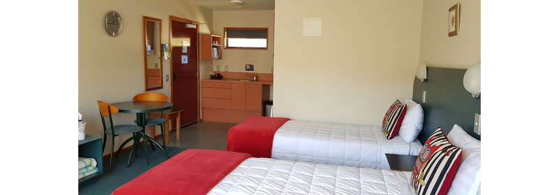 Twin beds dining,kitchen