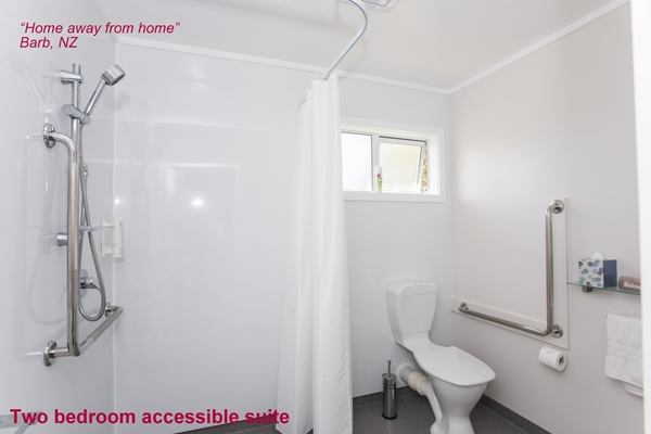 Disability accessible bathroom