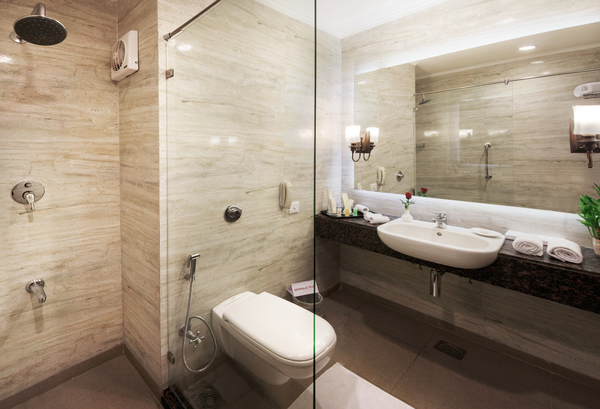 Deluxe Room - Bath with Shower