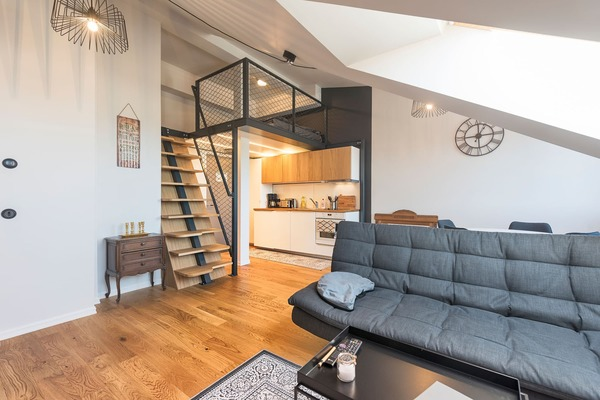 Luxury apartment next to Old Town - Sofa Bed
