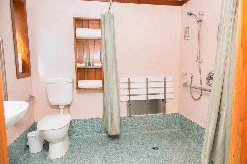 Large accessible bathroom