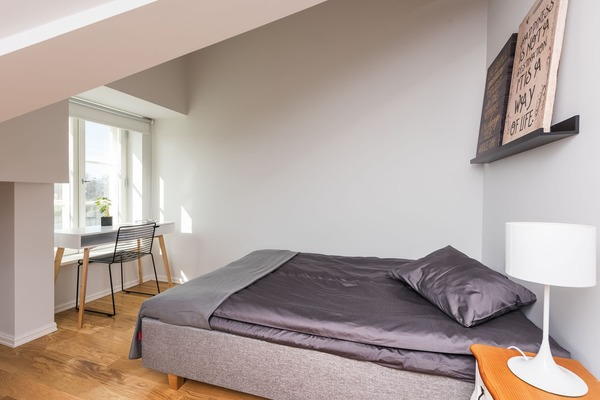Stylish and cozy apartment in the heart of Tallinn - Bed